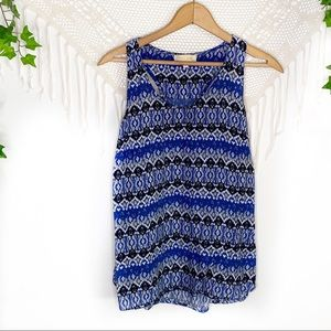 Lucy & Laurel Patterned Tank Top